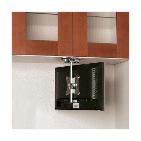 under cabinet tv mount for rv imanisr com flip down under cabinet tv mount for 10 quot to 18 quot lcds