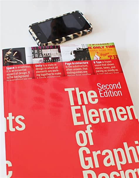 design review elements book review the elements of graphic design made by girl