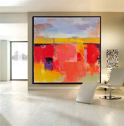 large artwork handmade large contemporary art canvas painting original