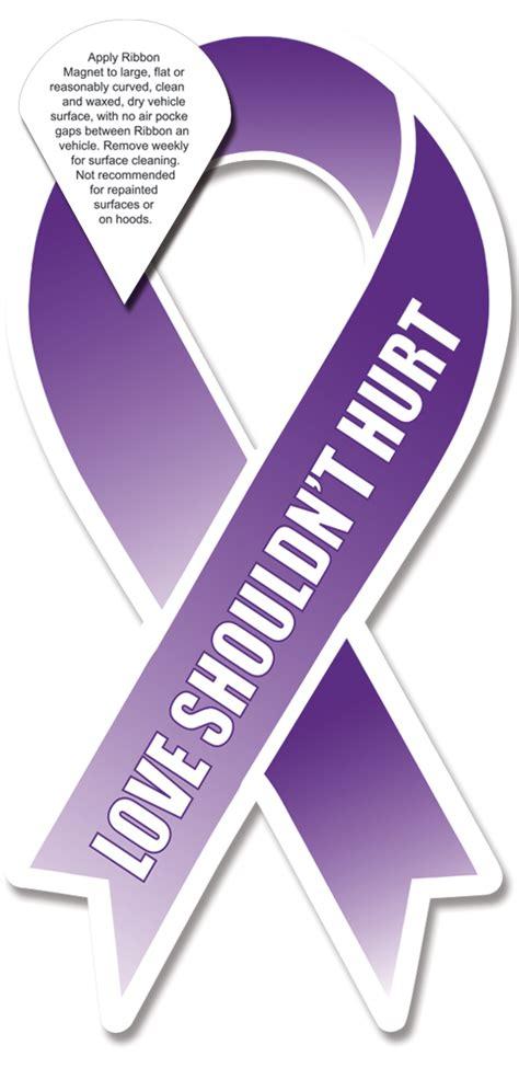 domestic violence ribbon color stock domestic violence awareness quot shouldn t hurt