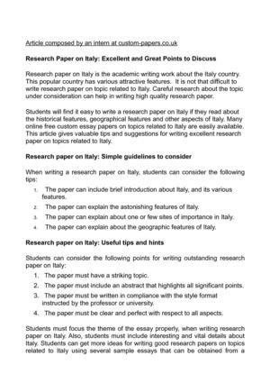 Write Research Essay In Order To by Importance Of Research In Essay Writing 187 Order Custom Essay