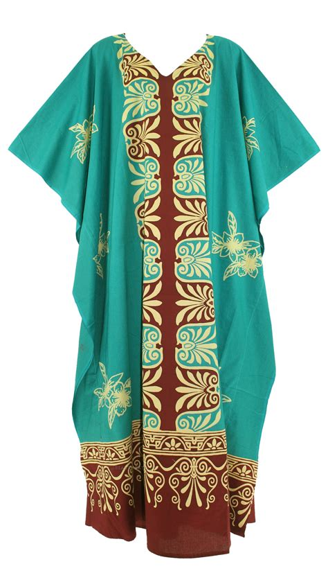 Dress Batik Allsize cotton batik caftan kaftan plus size maxi dress 1x 2x 3x 4x 26 28 ebay