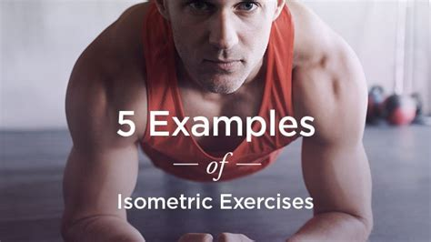 exles of isometric exercises for strength