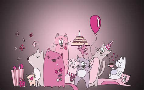 birthday wallpaper with cartoon birthday wishes cartoon animation beautiful hd wallpaper