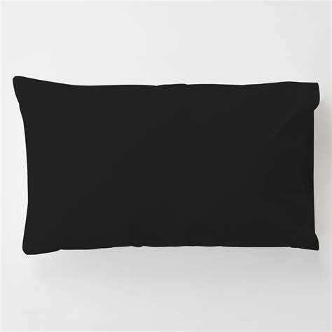 black bed pillows solid black toddler bed pillow case with pillow carousel