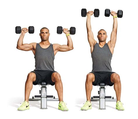 overhead press bench press top shoulders workouts to build perfect shoulders