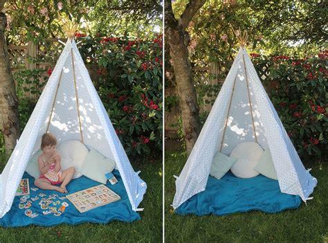 backyard teepee 15 diy teepees for fun kids playrooms decor advisor