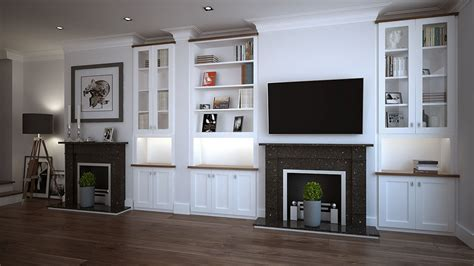 fitted living room cabinets bespoke living room storage solutions hyperion furniture