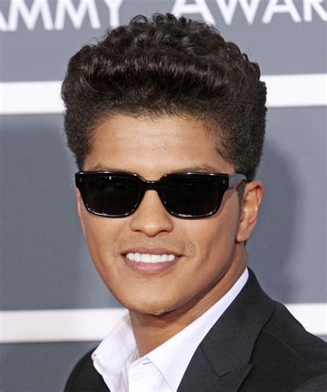 hair styles for hispanic hair bruno mars short curly casual hairstyle
