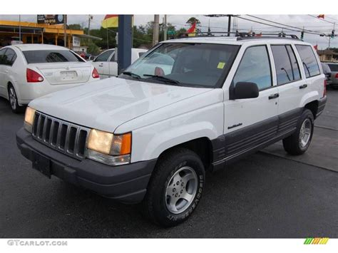 1998 jeep white 1998 white jeep grand laredo 4x4 15208296