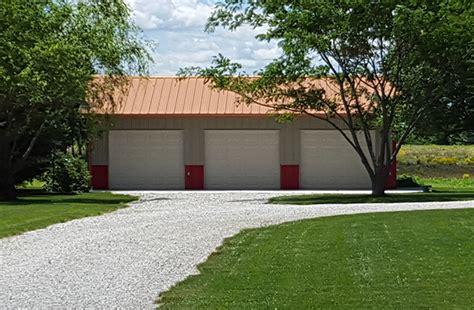 st il garage building lester buildings project