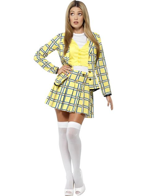 90s fancy dress costumes for girls adult clueless cher costume 20597 fancy dress ball