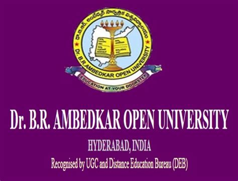 Dr Br Ambedkar Open Mba Distance Education 2015 by Dr Br Ambedkar Open Eligibility Test 2016 Dates
