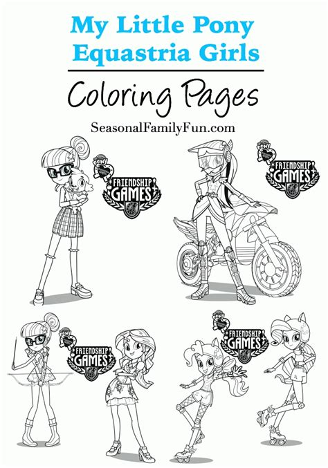 my little pony coloring pages friendship games equestria girl friendship games coloring pages coloring home