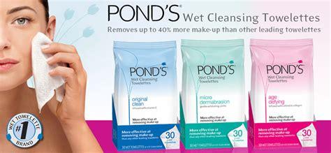 Drugstore Ponds Clean Sweep Cleansing Towelettes by Pond S Original Fresh Cleansing Towelettes Reviews In