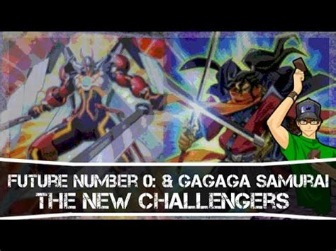 Yugioh Gagaga Samurai Original yugioh future number 0 the king of the future gagaga samurai