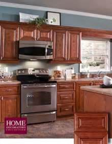 Home Depot Kitchen Furniture Reddish Brown Kitchen Cabinets At The Home Depot