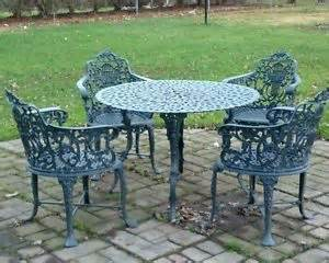 iron patio chairs vintage furniture