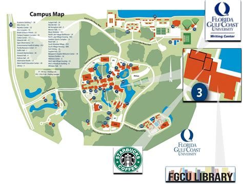 fgcu map pin fgcu cus map on