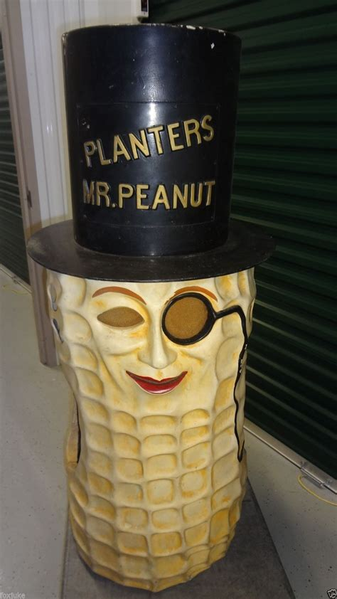 Who Owns Planters Peanuts by Vintage Planters Peanut Mr Peanut Costume Gameroom Show