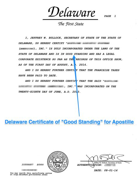 State Of Delaware Divorce Records State Of Delaware Apostille Apostille Service