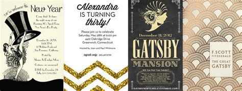 the great gatsby end theme great gatsby theme party guide