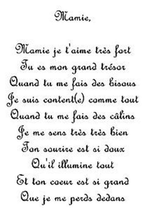 Poeme Pour Toi Mamie Blog De Manouchedu50340