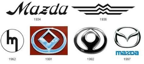 mazda car logo histoire du logo mazda mazda french club