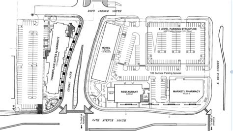 layout of mall of america hotel restaurant and parking r planned near mall of