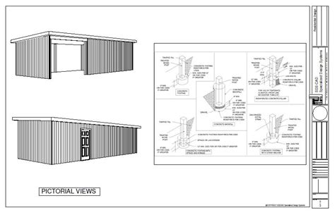 Wick Homes Floor Plans by Pole Barn Style Shed Plan Pole Barn Plans