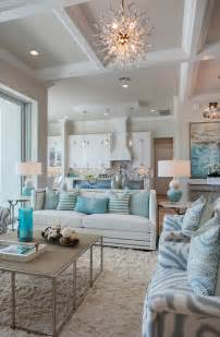 Home Interiors Colors by Florida Beach House With Turquoise Interiors Home Bunch