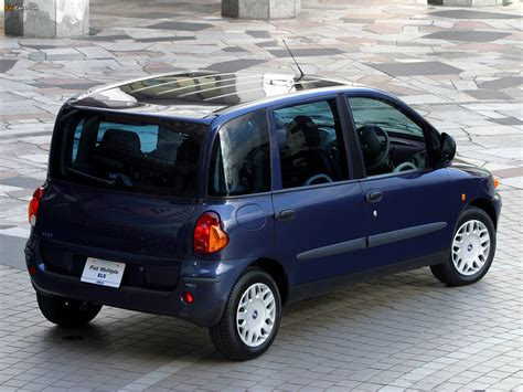 fiat multipla wallpaper wallpapers of fiat multipla jp spec 2002 04 1600x1200