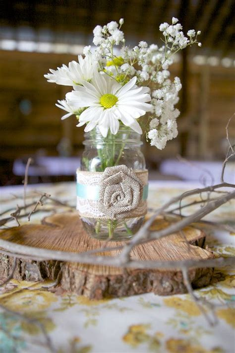 25 best ideas about barn wedding centerpieces on