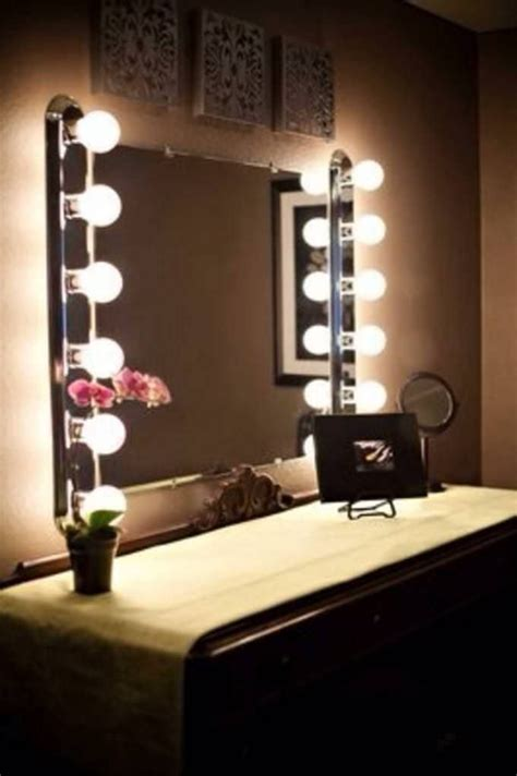 Vanity Mirror With Light Bulbs Around It by Best 25 Vanity Lights Ikea Ideas On Makeup
