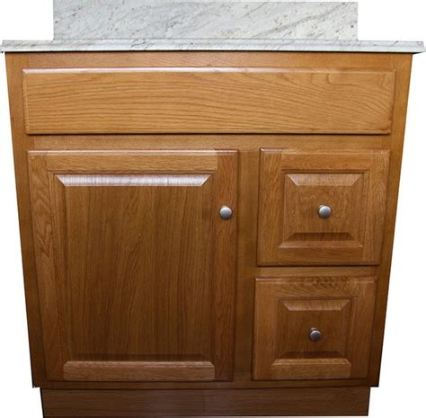 Oak Bathroom Vanity Bathroom Oak Cabinets Model Information About Home