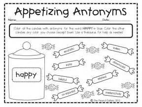 11 best images of antonym worksheets for grade 1