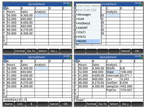 Spreadsheet Apps by Eddie S Math And Calculator Hp Prime Spreadsheet App