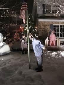 a christmas story inflatable leg lamp yard decoration