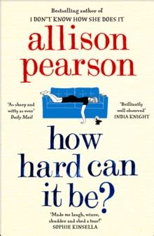 Allison Pearson How It Can Be how can it be allison pearson 9780008150549 hive co uk