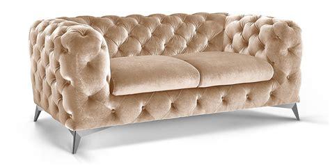 big sofa samt 2 sitzer chesterfield sofa big samt moebella24
