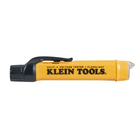 klein tools ncvt 2 blue light non contact voltage tester flashlight ncvt 3 klein