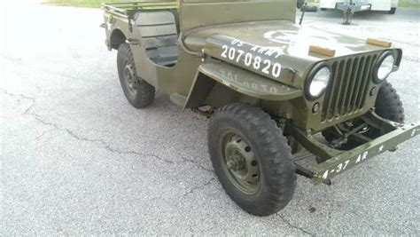 Korean War Jeep Wanted Ww Ii Thru Korean War Era Jeep Or Cj3b Or Similar