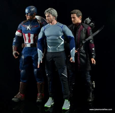 quicksilver movie toy hot toys quicksilver figure review avengers age of ultron