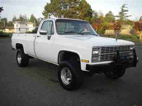 purchase used 1984 chevy k20 3 4 ton 4x4 in