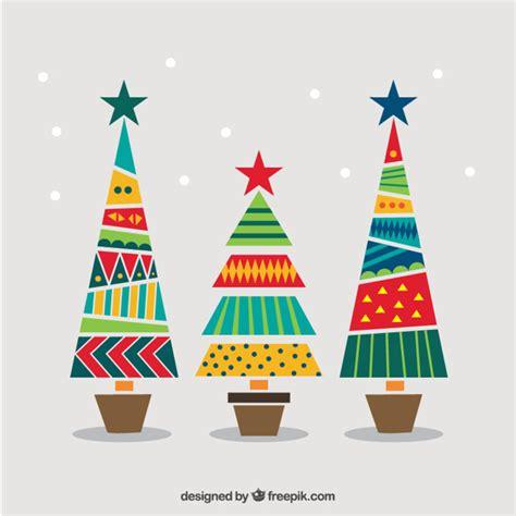 arboles de navidad gratis 225 rboles de navidad geom 233 tricos y coloridos descargar