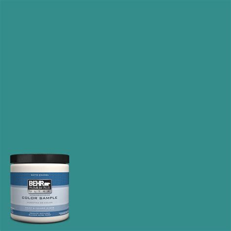 behr premium plus ultra 1 gal s520 5 thundercloud satin enamel interior paint 775401 the