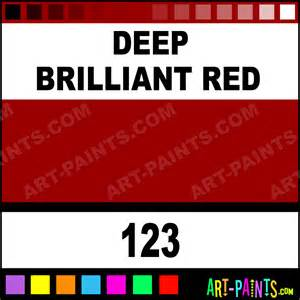 deep brilliant red artist acrylic paints 123 deep