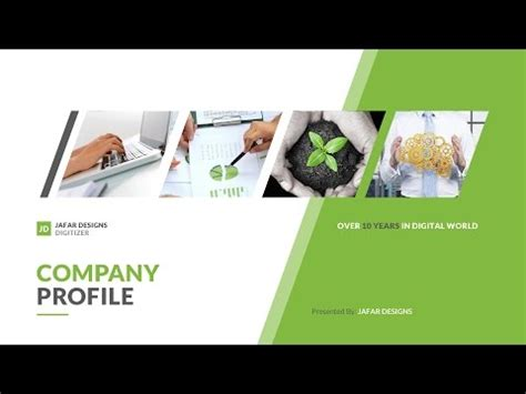 company profile sle after effect template doovi