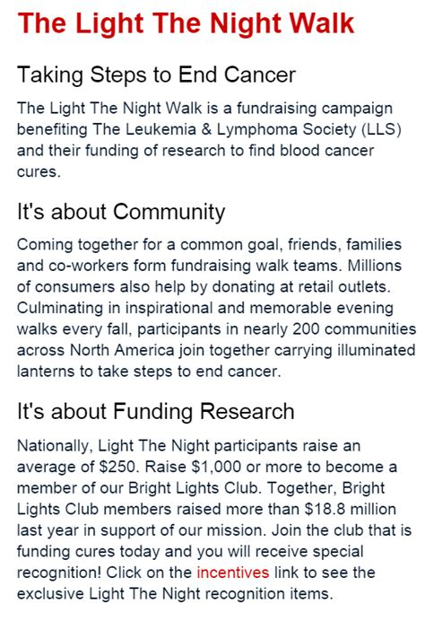 Lls Fundraising Letter Light The Team Caduceus American Student Association