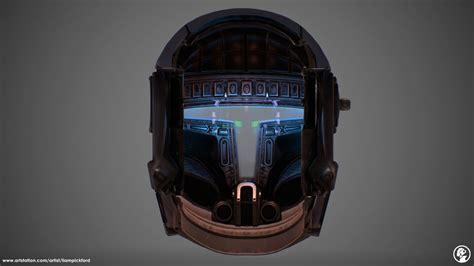 liam pickford republic commando helmet  hud interior